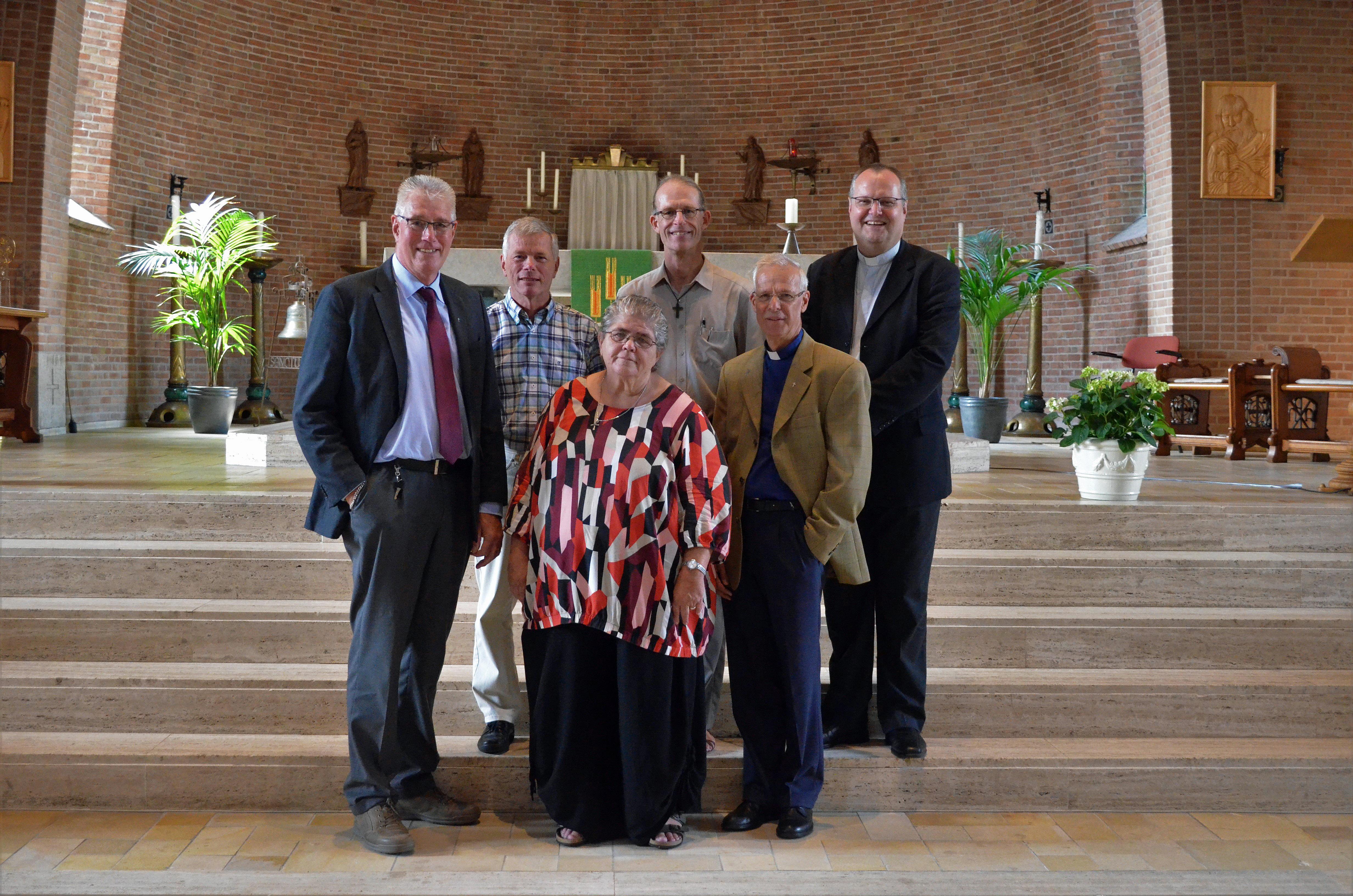 Pastorale team van parochie maria-laetitia.